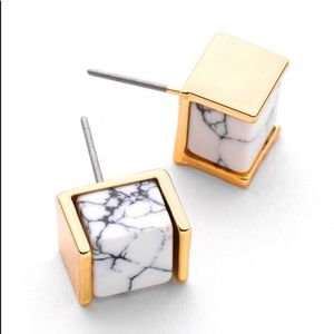 Jewelry - LAST Marble Stud Earrings